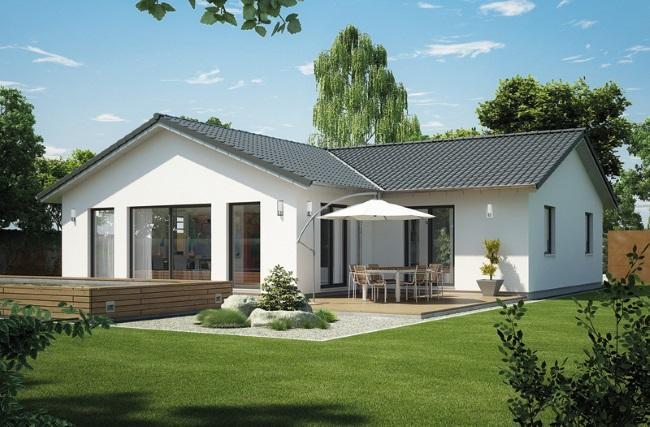 1-model casa prefabricata Icon Haus doar parter suprafata 117 mp