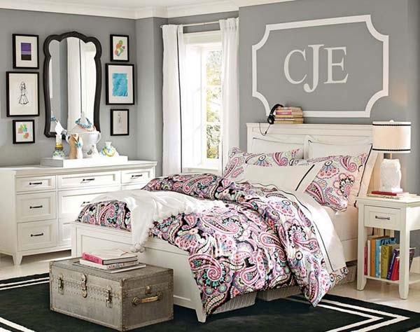 1-model de dormitor frumos zugravit in gri si mobilat in alb