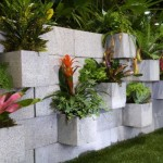 Idei faine de folosire a boltarilor din beton in amenajarea si decorarea gradinii