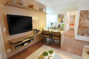 1-model mobila minimalista cu TV amenajare living modern open space