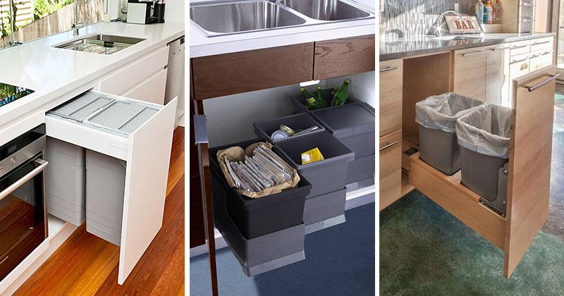 Cosul de gunoi din bucatarie – modele extractabile, practice