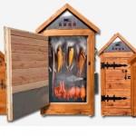 Afumatoare din lemn usor de instalat si folosit, la un pret bun