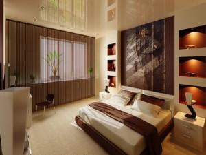 1-nise decorative dormitor modern zugravite in maro inchis