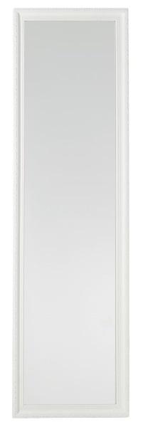 1-oglinda mare cu rama alba din lemn de brad Dronninglund magazin Jysk