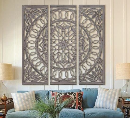 panou decorativ din lemn piese decor living
