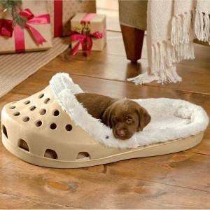 1-pat culcus pentru caini in forma de papuc