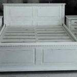 1-pat din lemn de brad stil baroc model Regal magazin Adecom