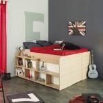 Un pat dublu pentru spatii mici pe care o sa ti-l doresti si tu