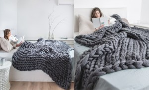 1-patura-gri-tricotata-manual-din-lana-merinos-cu-fir-gigant