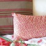 1-pernute cu imprimeu floral dormitor amenajat in stil toscan