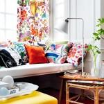 1-pernute multicolore in culori complementare si analoage