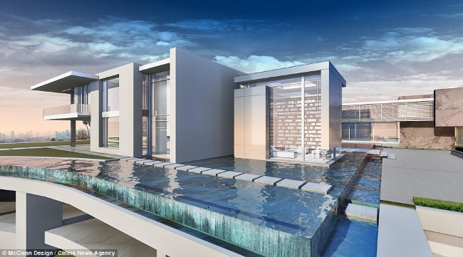 1-piscina Infinity cea mai scumpa casa din lume LA California
