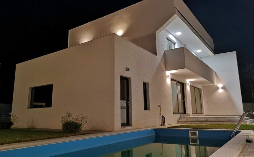 piscina casa stil mediteranean Paulesti PH
