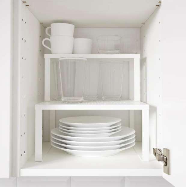 1-polita-etajera-organizare-dulap-bucatarie-Variera-Ikea