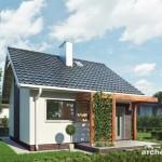 Proiecte frumoase de case mici cu design modern