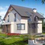 4 proiecte de case mici, cu parter si mansarda