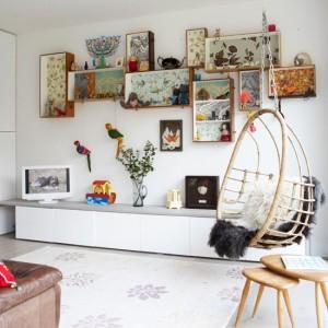 Rafturi decorative noi din sertare vechi. 12 idei COOL