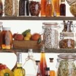 1-rafturi pentru depozitarea conservelor de iarna in camara sau debara