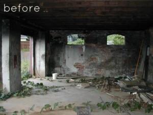 1-ruinele casei vechi inainte de renovare
