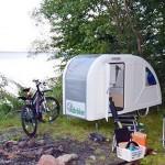 1-rulota mica pentru 2 persoane camping