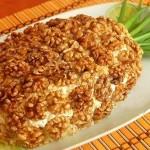 1-salata Ananas pentru masa de Revelion cu miez de nuca si pui