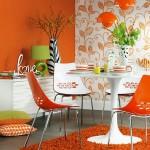 Schimba radical aspectul bucatariei cu ajutorul scaunelor colorate