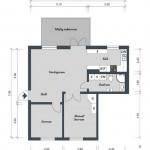 1-schita plan apartament 3 camere