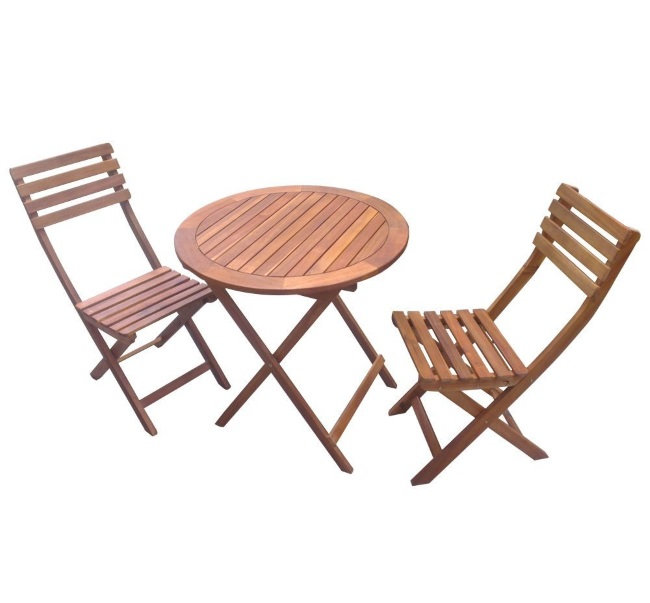 Set balcon masa pliabila cu doua scaune pliante dedeman with plasa gard dedeman