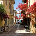 1-straduta centrul vechi al orasului Nafplio Grecia