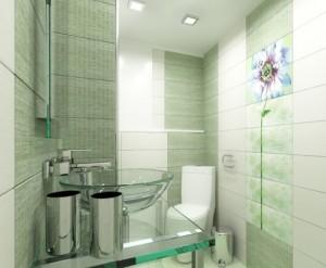 1-sugestie-decorare-baie-moderna-mica-in-verde-si-alb
