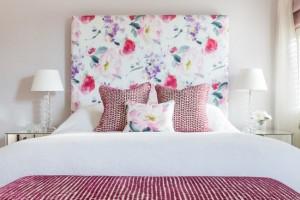 1-tablie pat supradimensionata cu imprimeu floral dormitor romantic