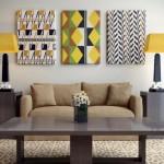 1-tablouri decorative confectionate din resturi de tapet