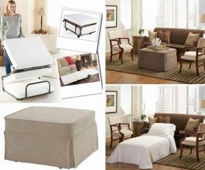 1-taburet puf extensibil piesa de mobilier multifunctionala