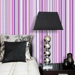 1-tapet cu dungi verticale subtiri decor dormitor