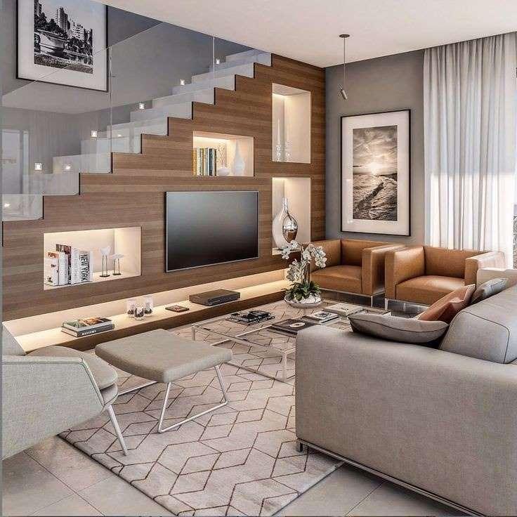 1-televizor-firide-perete-sub-scara-interioara-living