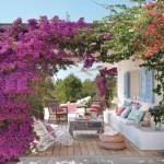 1-terasa umbrita de bougainvillea casa alba stil mediteranean Formentera