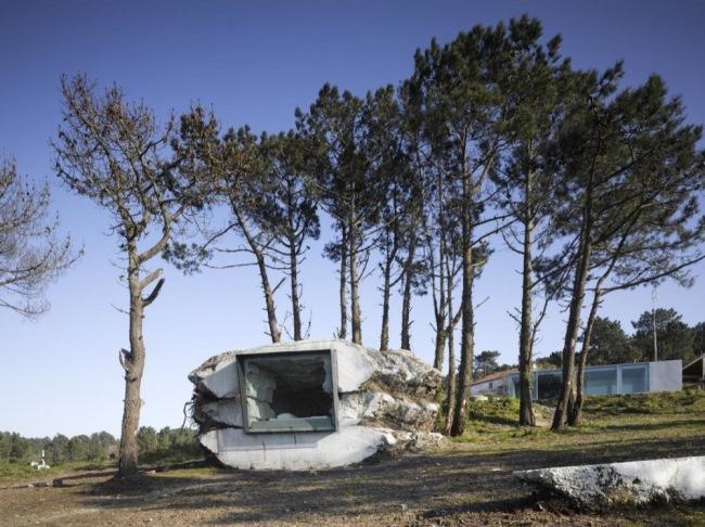 1-trufa casa de vacanta in stanca de beton spania costa da morte