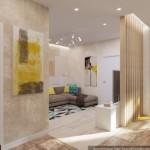 Transformare garsoniera in apartament cu 2 camere pentru o familie cu 2 copii