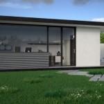 10 gradina casa structura metalica - Vision House
