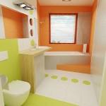 10-3 culori de faianta pentru accentuarea zonelor de interes din baie