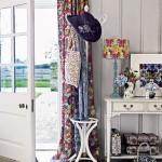 10-abajur lampa si draperii cu imprimeu floral inspirat de primavara