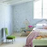 10-accente culoare verde decor de primavara dormitor