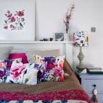 10-accente decorative florale pernute si abajur veioza decor dormitor modern