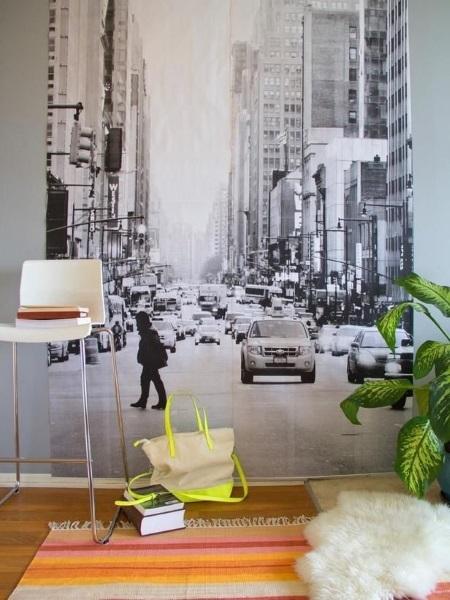10-adancirea vizuala a unei camere cu ajutorul unui fototapet cu perspectiva