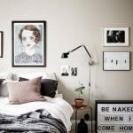 10-amenajare dormitor scandinav cu elemente vintage
