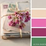 10-asortare gri roz pudrat mov si verde smarald