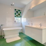 10-baie alba pardoseala verde