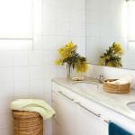 10-baie alba simpla interior apartament 50 mp Barcelona