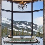 10-baie cu jacuzzi cu fereastra mare