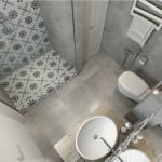 10-baie moderna amenajata in nuante de gri si alb garsoniera de 30 mp